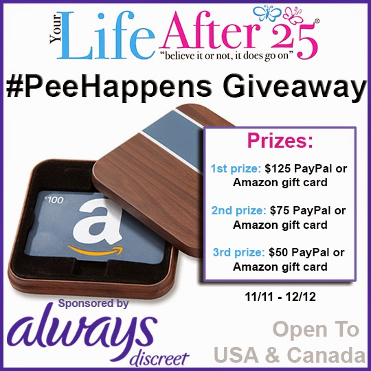 YLA25 PeeHappens Giveaway