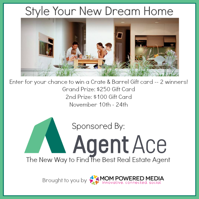 Let Agent Ace Help You Find Your Dream Home + $350 Crate & Barrel Giveaway
