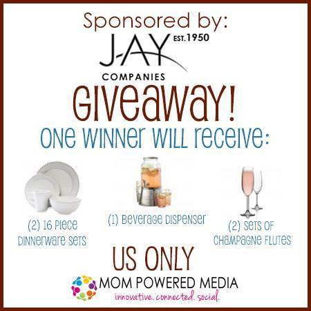 Jay Companies Holiday Entertaining Giveaway