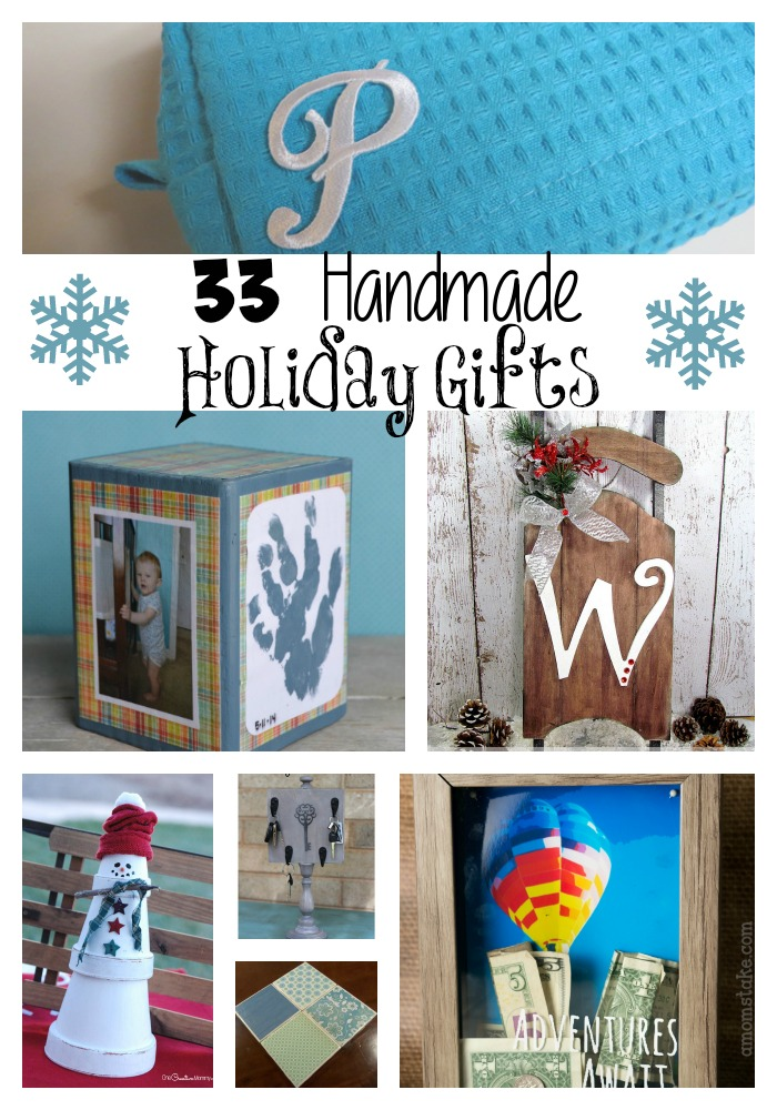 33 Homemade Holiday Gifts