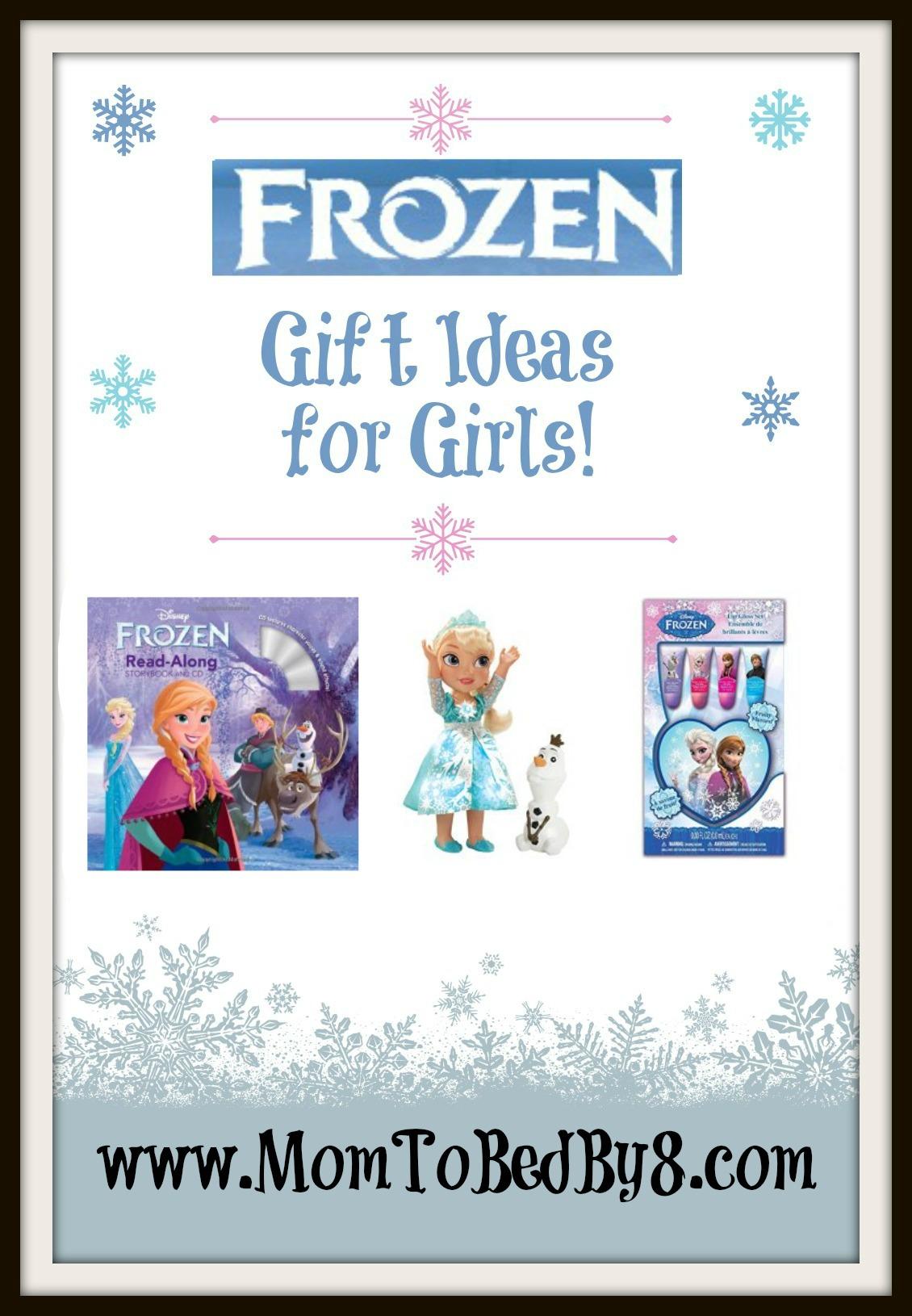 Last Minute Frozen Gift Ideas for Girls