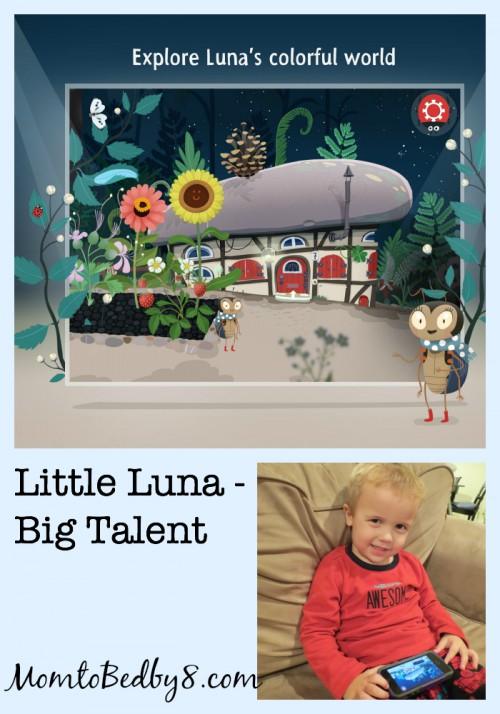 Little Luna, Big Talent App Review