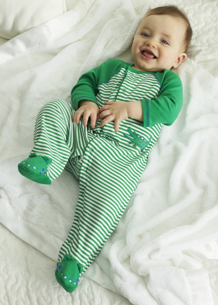 Little Me sleepers are a must have for little ones this winter!