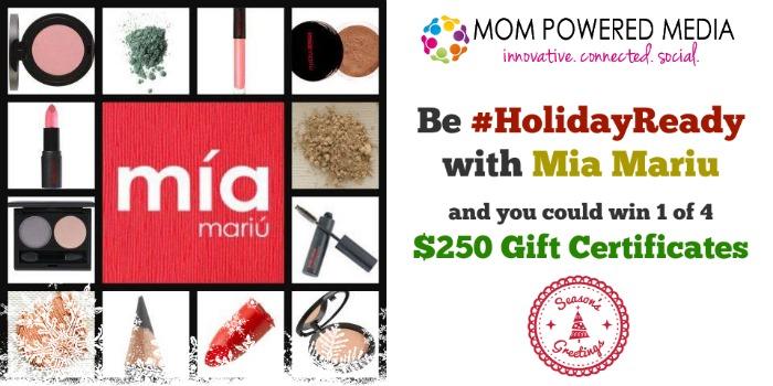 Mia Mariu #HolidayReady $1,000 Giveaway