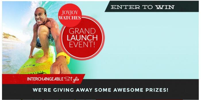JoyJoy Watches Holiday Giveaway *11 winners*