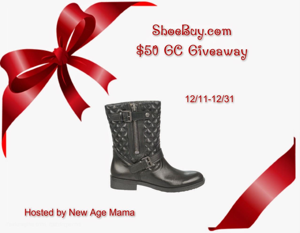 $50 ShoeBuy Gift Card Giveaway