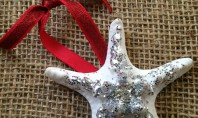 DIY: Sparkly Starfish Ornament