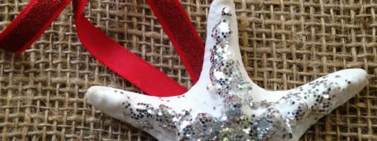DIY: Sparkly Starfish Ornament