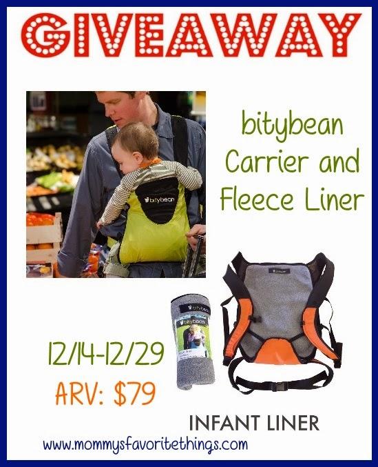 bitybean Baby Carrier and Fleece Liner Giveaway