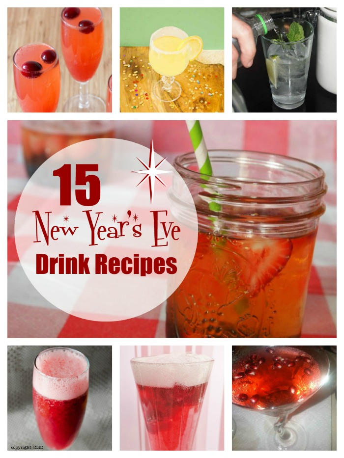 15 New Year's Eve Drink Recipes