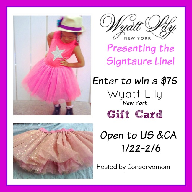 Wyatt Lily Boutique Children's Clothing Giveaway