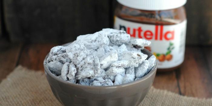 Nutella Muddy Buddies