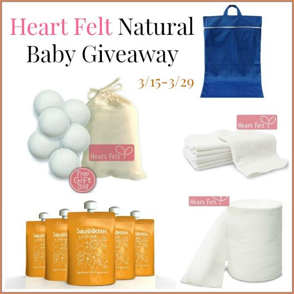 Heart Felt Natural Baby Giveaway