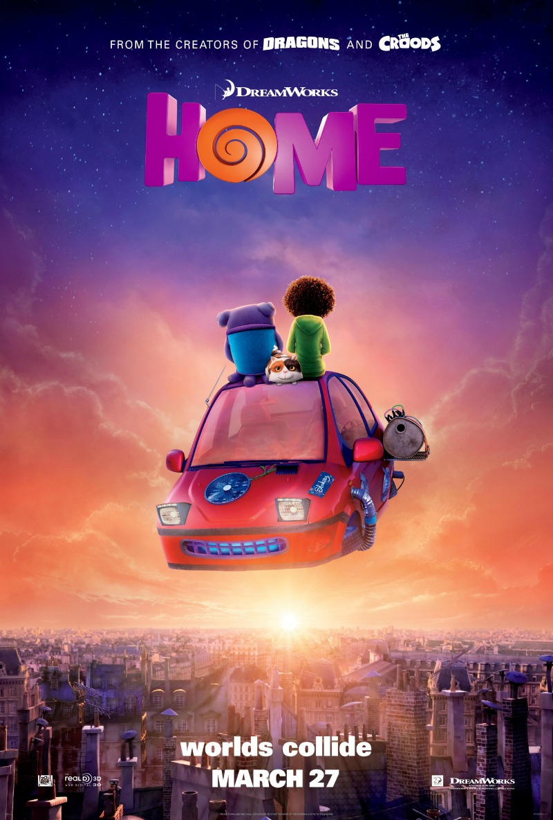 HOME Oh puppet Make It Take It Event + DreamWorks Home Giveaway