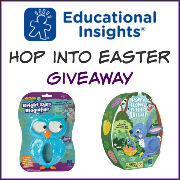 Hop Into Easter Giveaway with Educational Insights