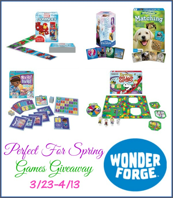 Wonder Forge Perfect For Spring Games Giveaway