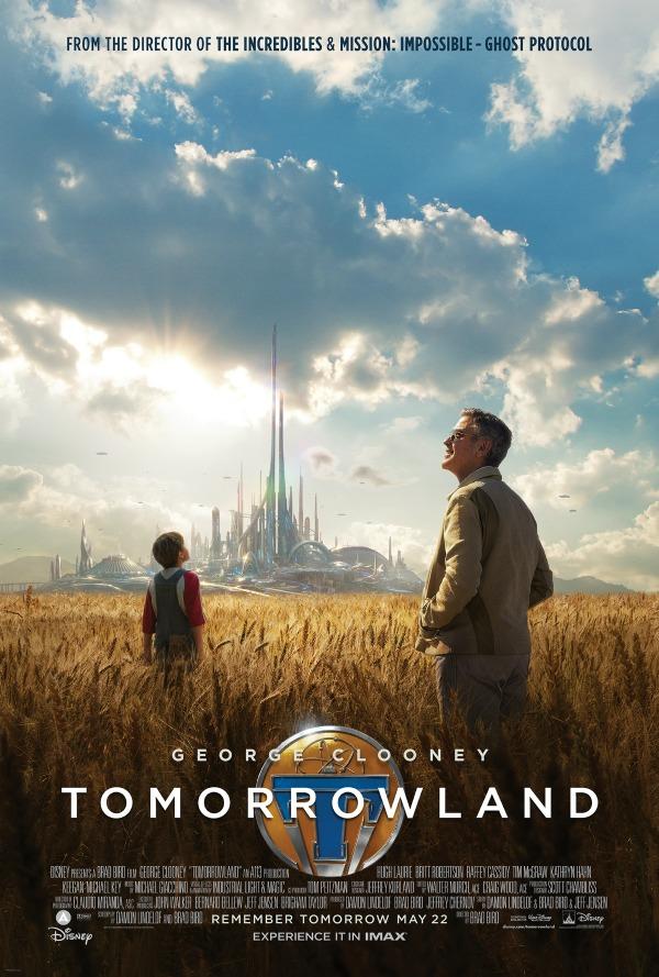 Disney TOMORROWLAND Trailer & Poster Debut