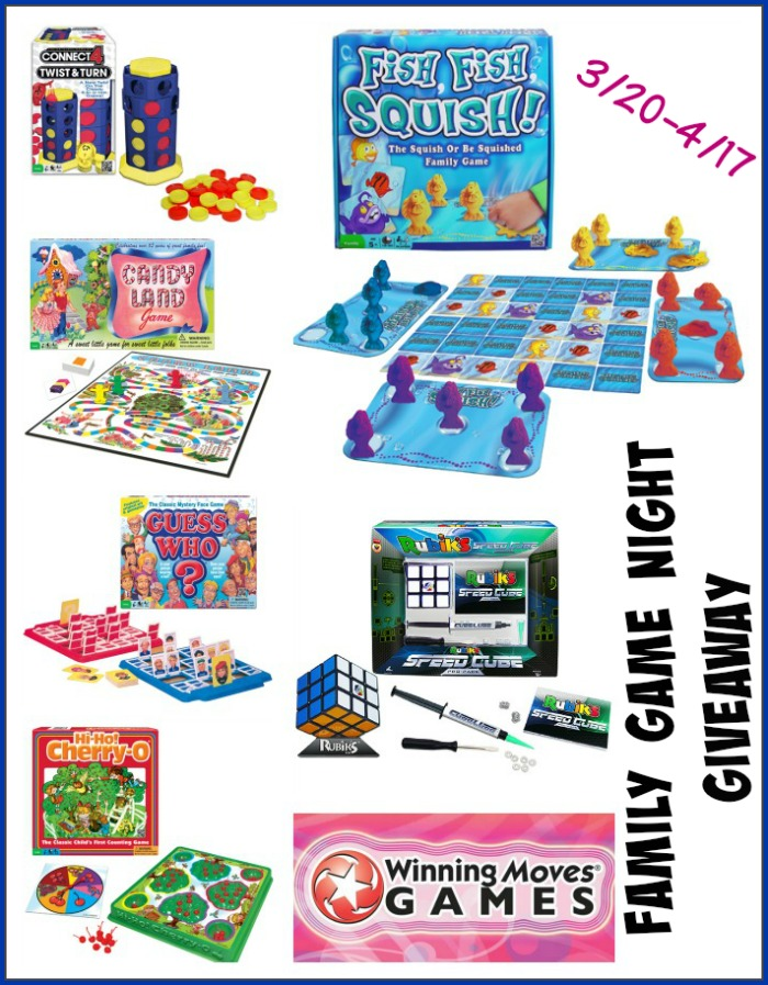 Winning Moves Family Game Night Giveaway