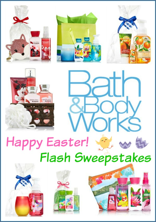 Bath & Body Works Prize Package Giveaway