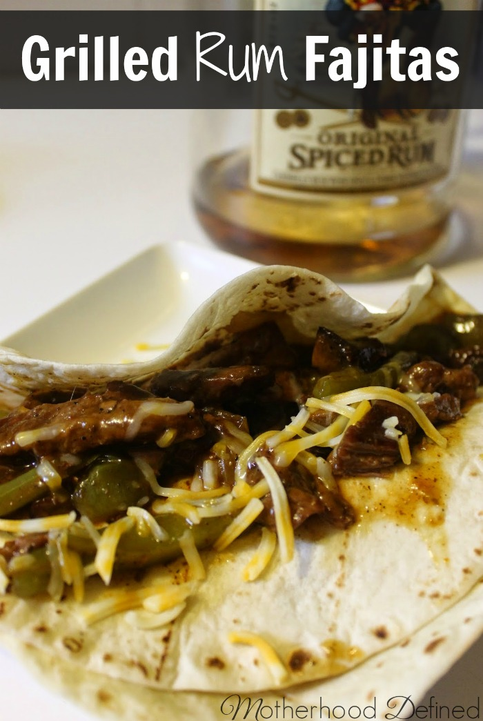 Grilled Rum Fajitas – Perfect for Camping and Summer Nights!