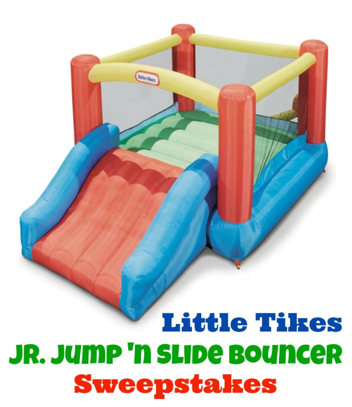 Little Tikes Jr. Jump 'n Slide Bouncer Giveaway