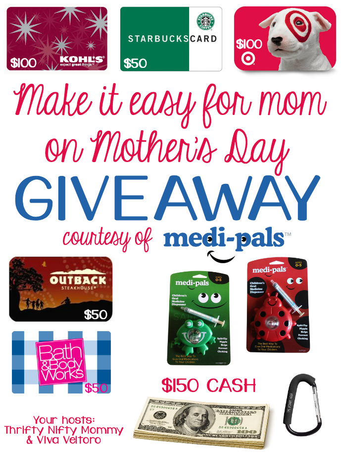 Medi-Pals Mother's Day Giveaway