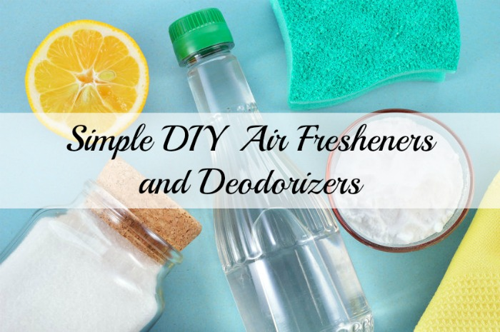 Simple DIY Air Fresheners and Deodorizers