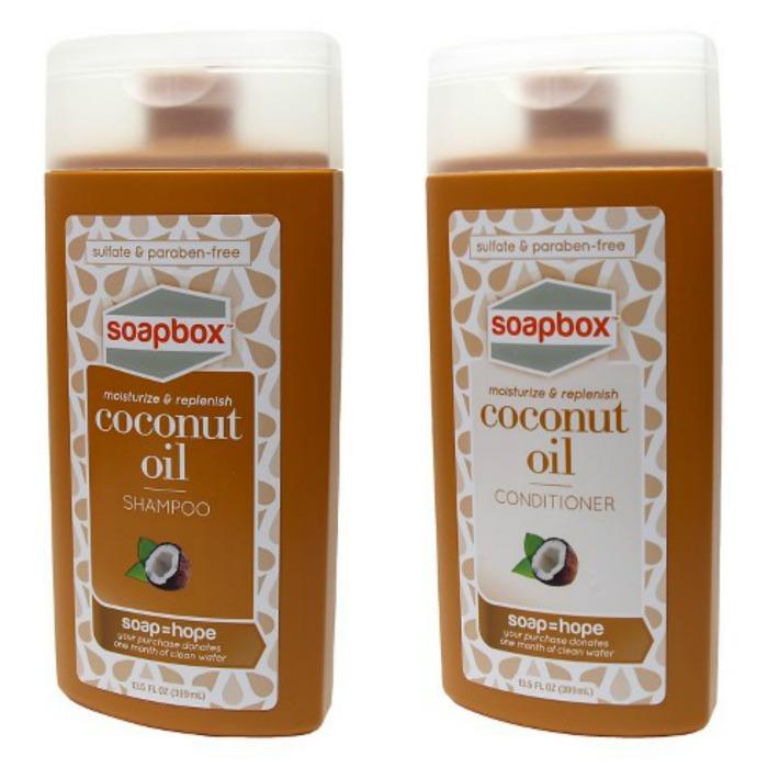 SoapBox Soaps Coconut Oil Shampoo and Conditioner