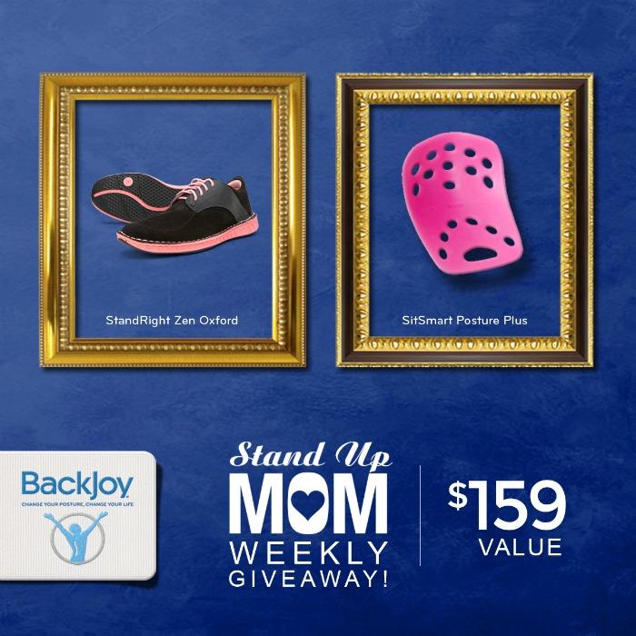 BackJoy SitSmart and Zen Shoes Giveaway