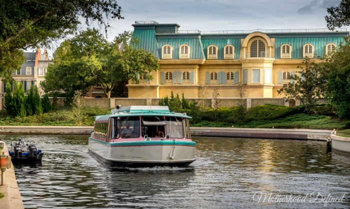 Disney Boat Rides