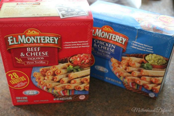 El Monterey Taquitos Box
