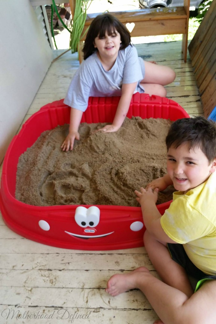 Never Too Old To Play In The Sandbox