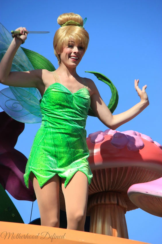 Tinkerbell at Disney