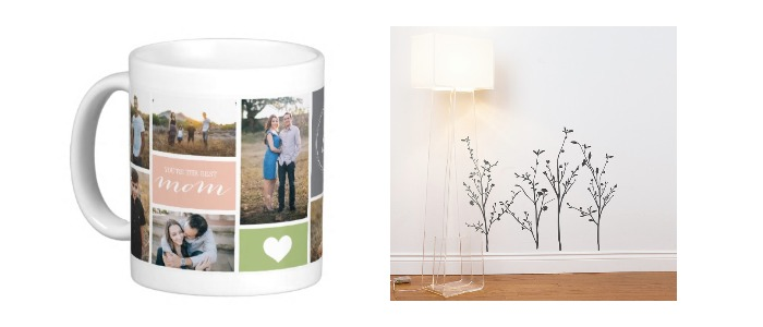gifts for her coffee mug and wall decals