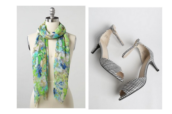 gifts for her scarf and heels