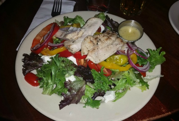 Hell's Kitchen Greek Salad with Chicken