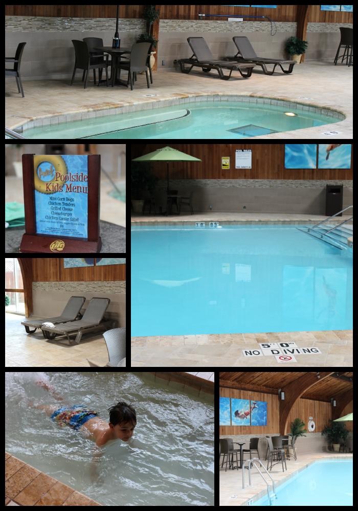 Radisson Roseville Aquatics Area