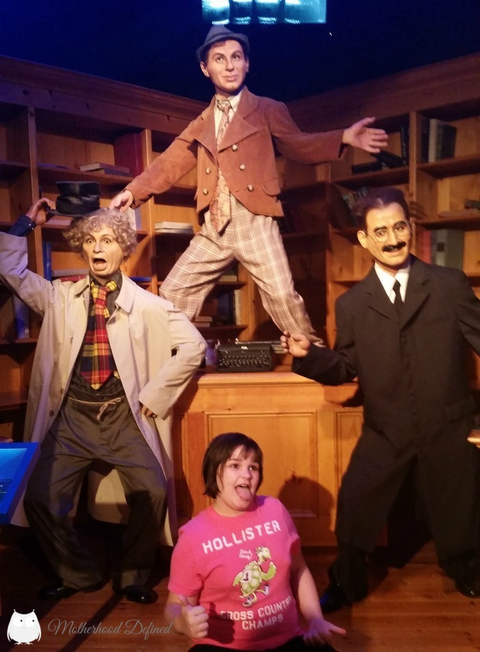The Three Stooges Hollywood Wax Museum