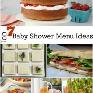 Top 7 Baby Shower Menu Ideas