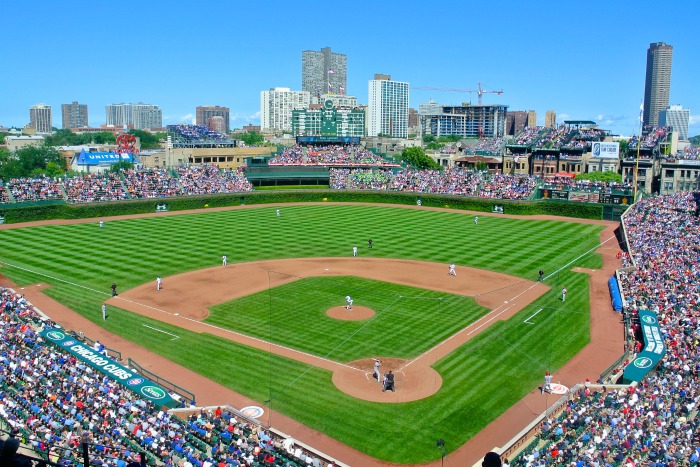 Weekend Getaway in Chicago ~ Chicago Cubs & Wrigley Field