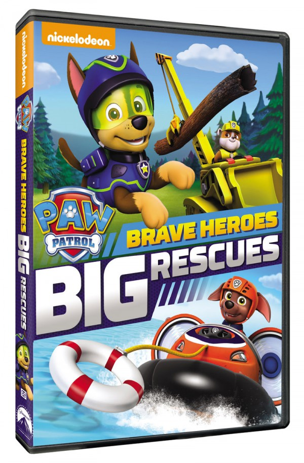 PAW Patrol: Brave Heroes, Big Rescues available TOMORROW, March 1