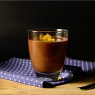 Orange Chocolate Mousse (with a SECRET ingredient!)