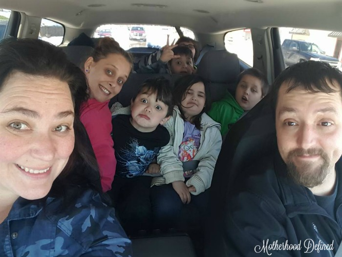 Surviving a roadtrip with kids