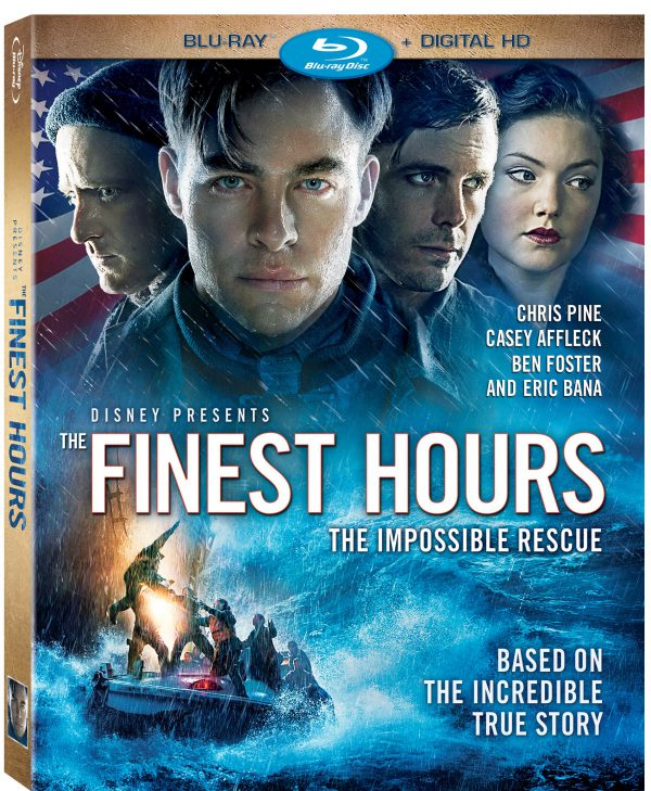 The Finest Hours now available on blu-ray and digital HD