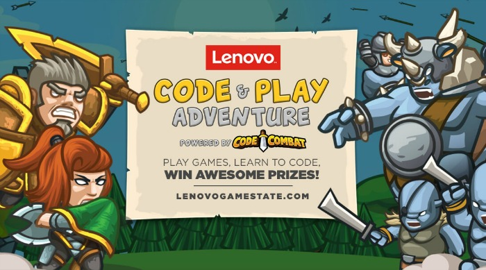 Inside Lenovo's Code & Play Adventure Powered by Code Combat