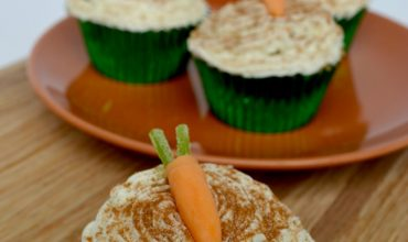 Easy Rips Carrot Cupcake for Easter