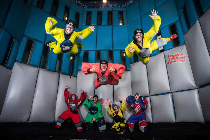 Save $15 on Vegas Indoor Skydiving