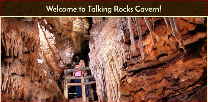 Save $2.00 OFF Talking Rocks Cavern Valid for up to 10 people