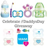 Celebrate #DaddysDay with MAM $500 Giveaway