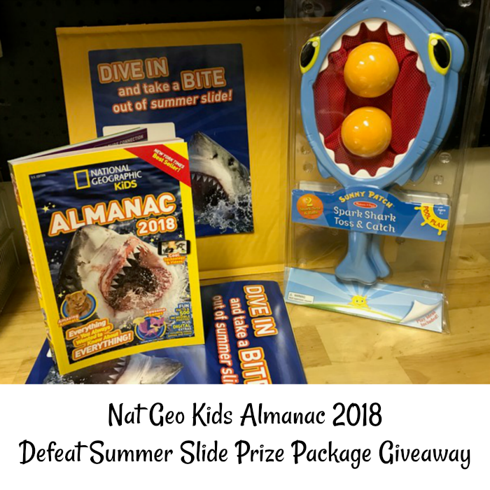 Tips to Defeat the Summer Slide + National Geographic Kids Almanac Giveaway